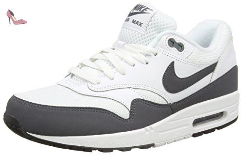 Nike Air Max 1 Essential, Baskets Basses Homme, Multicolore (Black/White), 44.5 EU - Chaussures nike (*Partner-Link)