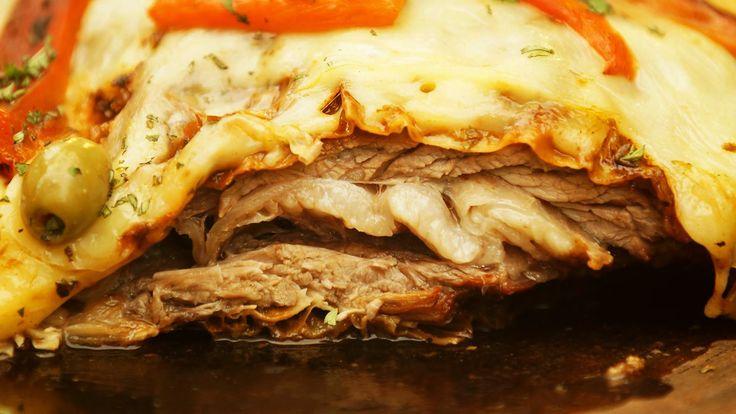 Si no lo hicieron pruebenlo ya!!! El mejor corte de carne de novillo con un techo de salsa de chimi y pizza espectacular! Si te gusto el capítulo SUSCRIBITE ...
