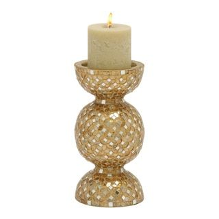 Shop for Stunning Metal Mosaic Beige Candle Holder. Free Shipping on orders over $45 at Overstock.com - Your Online Home Decor Outlet Store! Get 5% in rewards with Club O! - 18734199