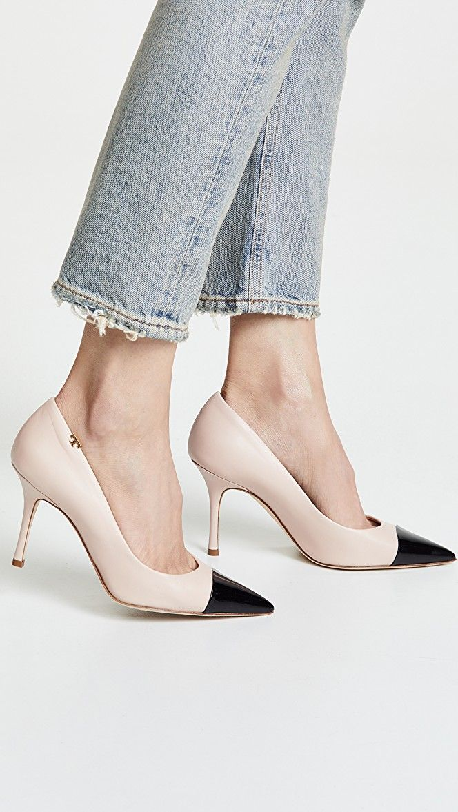 74bbf3f6afb6 Penelope Cap Toe Pumps in 2019 | Shopping List ....spring | Pumps ...