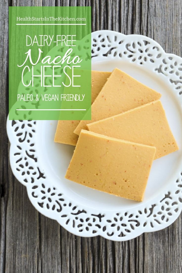 Dairy-Free, Paleo Nacho Zucchini Cheese - tastes just like cheese only dairy free!