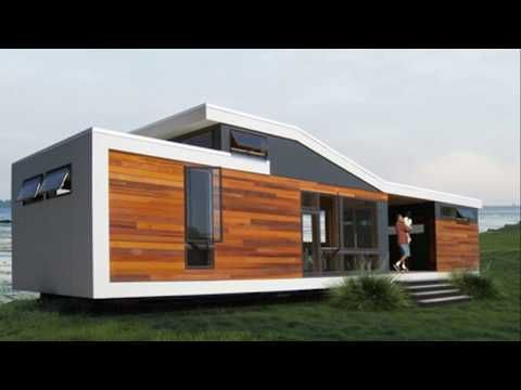 Beautiful 640 Sq. Ft. California Solo 1 Modern Prefab Tiny House - YouTube