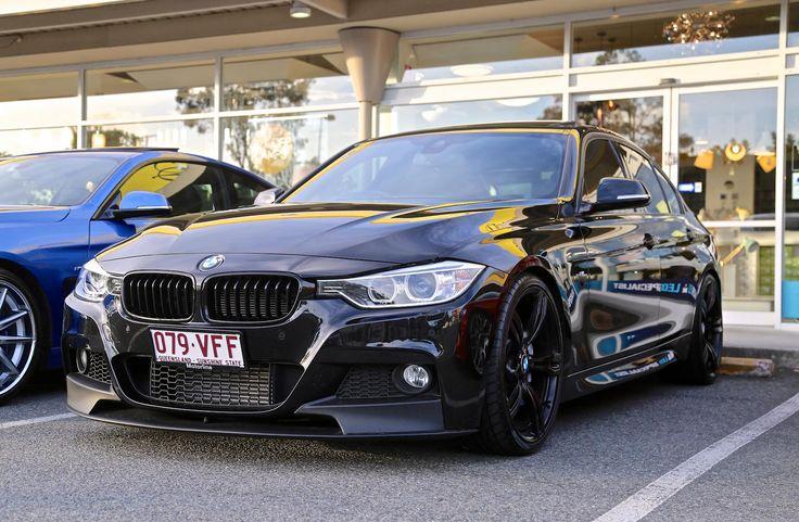 Total black 2014 BSM f30 335i BMW F30 / 3 SERIES