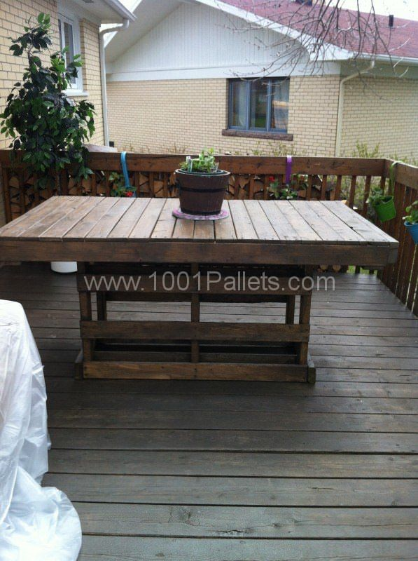 Patio Pallet Table Pallet Desks & Tables Pallet For Outdoor Projects