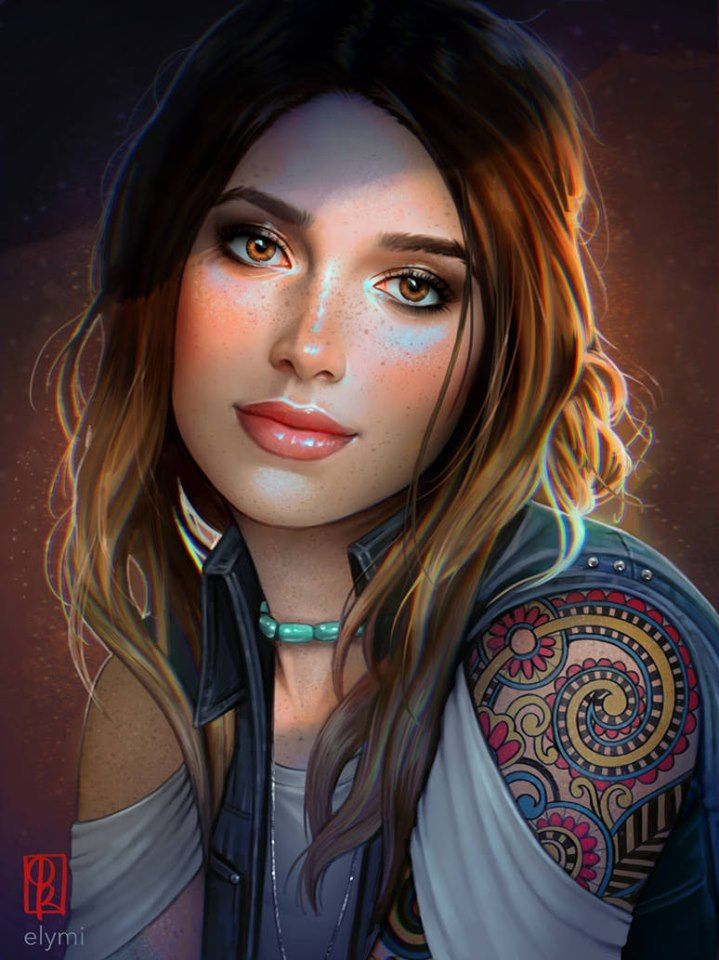 Yvonne2901 Character Portraits Digital Art Girl Female Art