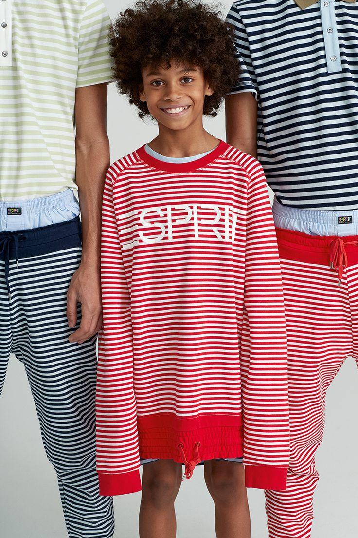 #Esprit #EspritxOC #OpeningCeremony #80s #california #shirt #stripes #sweater