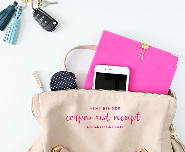 Last week I mentioned that I spotted the prettiest blush mini-binder  at The Container Store. I also mentioned that I love those fantastic m...