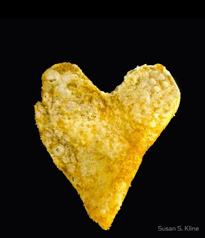 Heart Shaped Potato Chip Pencil Skirt Chips, Potatoes and Heart