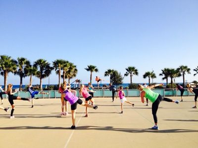 Body Combat at wonderful Playitas resort on Furtoventura. Photo by AnnaEmerge