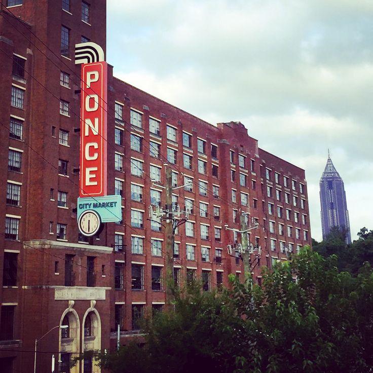 Ponce City Market in O4W, Atlanta, GA