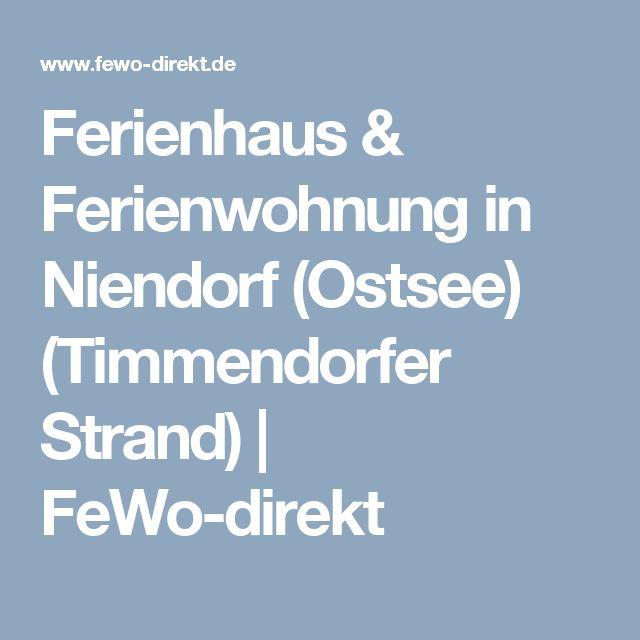 Ferienhaus & Ferienwohnung in Niendorf (Ostsee) (Timmendorfer Strand)   FeWo-direkt