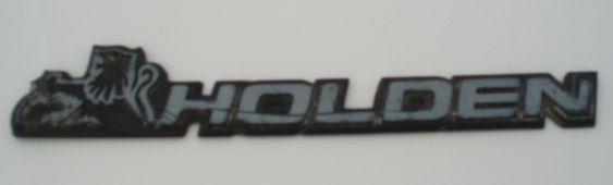 Holden car badge
