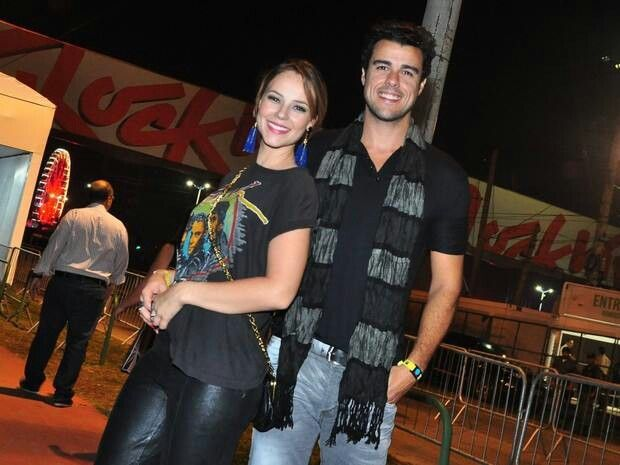 Paola Oliveira e Joaquim