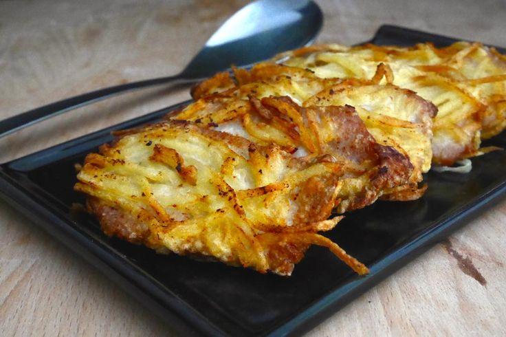 """La lonza in crosta di patatine è una sorta di """"cotoletta"""" panata con le patate: irresistibile!"""