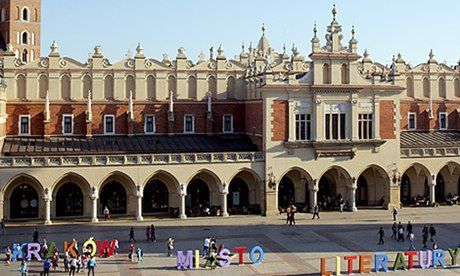 Krakow's story: a Unesco City of Literature built out of booksLiterature Built, Kraków Unesco, Favorite Places, Iowa Cities, Järjestö Unesco, Beautiful Places, Book, Unesco Cities, Guardian Literature
