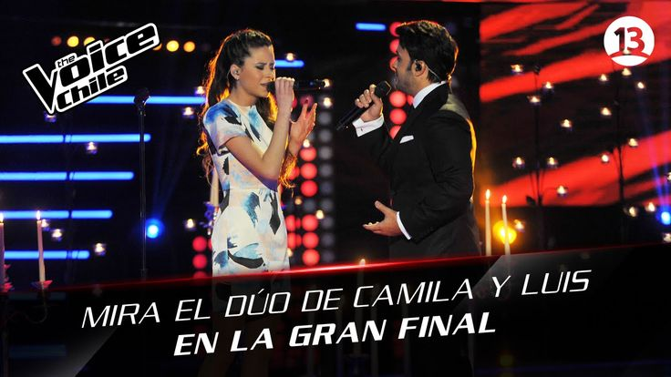 The Voice Chile | Camila Gallardo y Luis Fonsi - Lay me down