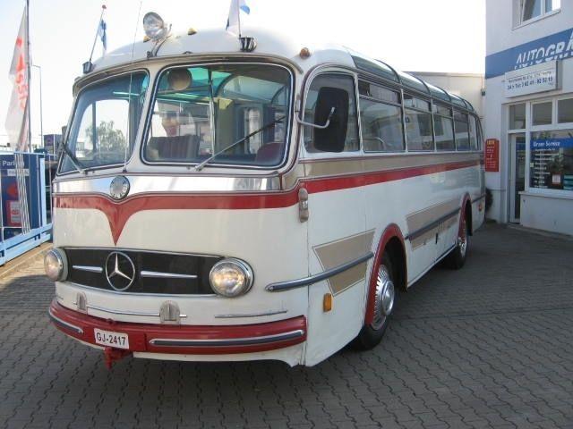 1961 Mercedes Benz Motor Bus