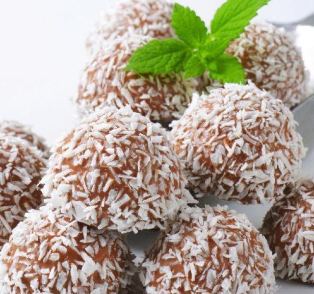Recept Rumové kuličky v kokosu