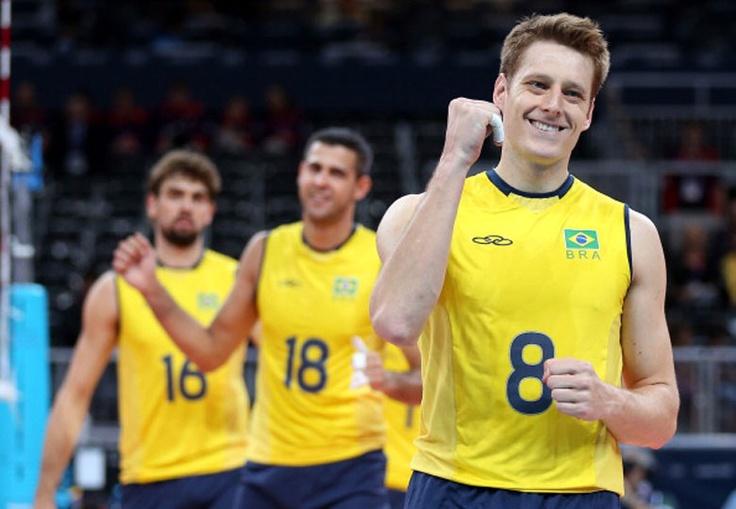 Brasil, vôlei masculino, Olimpíadas Londres 2012, esporte, sport, seleção brasileira, Brazil