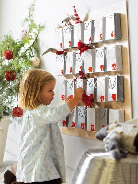 украшение детской на новый год