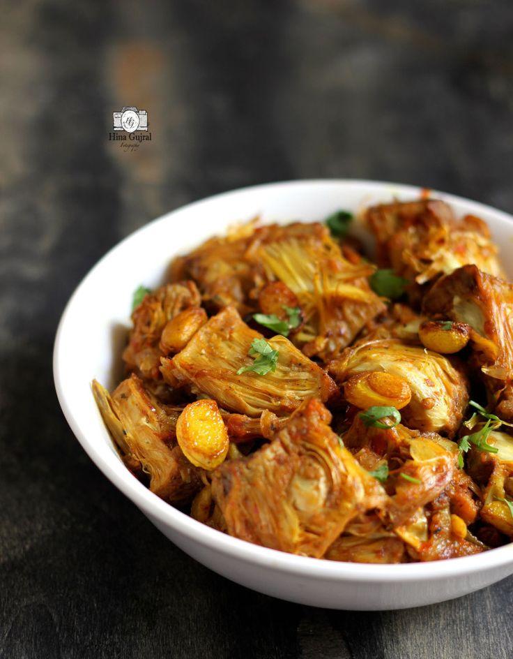 how to make kathal ki sabzi in bengali style