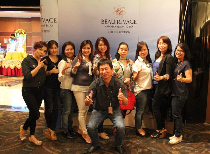 Beberapa Marketing Associate,  Century21 Mediterania Group yang juga turut berpartisipasi dalam acara tersebut.