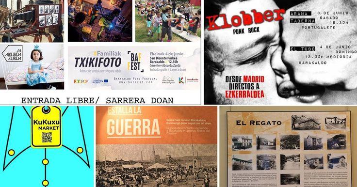 Agenda | Rock de mediodía en El Tubo + la guerra en El Regato + animación familiar Txikifoto