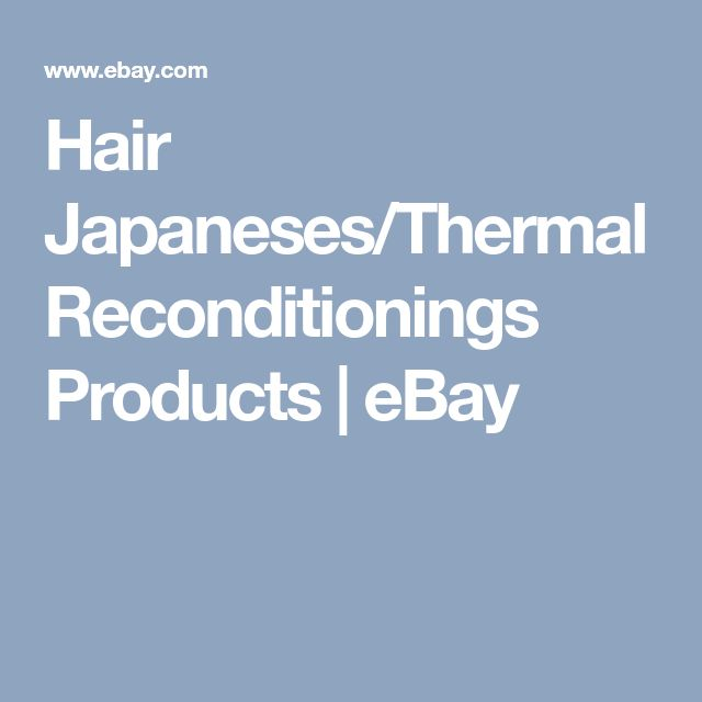 Hair Japaneses/Thermal Reconditionings Products | eBay