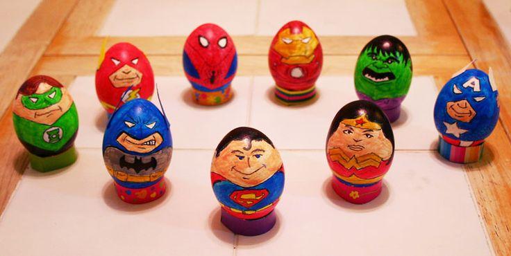Easter Eggs, Comic book hero's