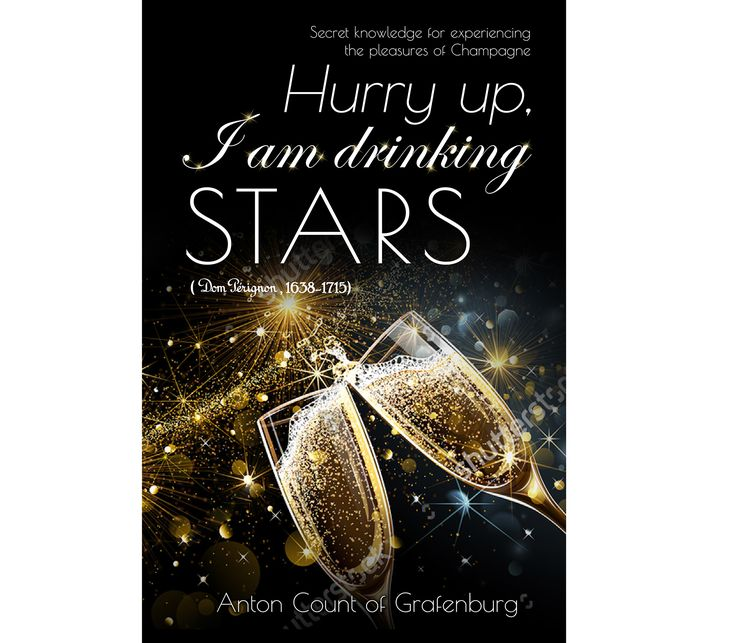 Designs | Create a cover showing the pleasures of Champagne | Book cover contest