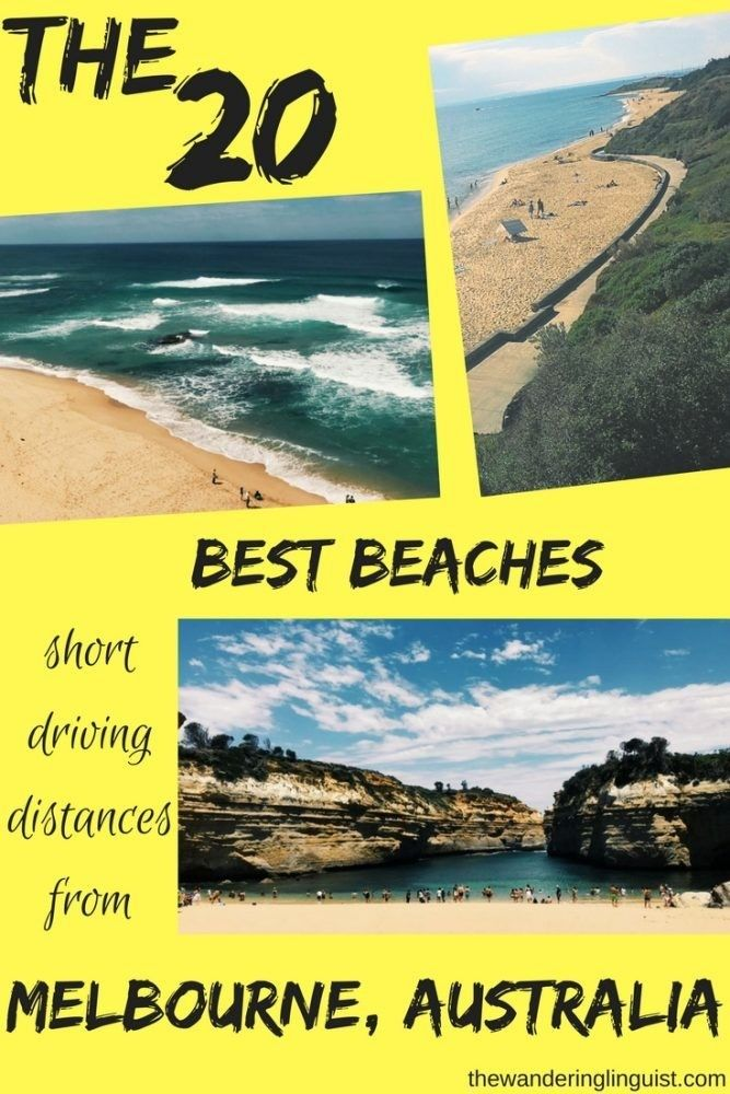 A comprehensive list of the best beaches in and around Melbourne, and where to find them!