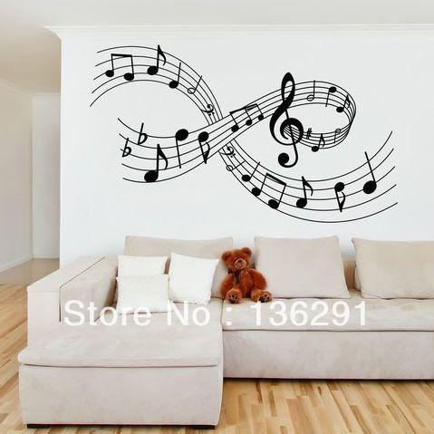 DIY-MUSIC-WALL-ART-STICKER-Musical-Notes-Large-Medium-Lounge-Bedroom.jpg (479×479)