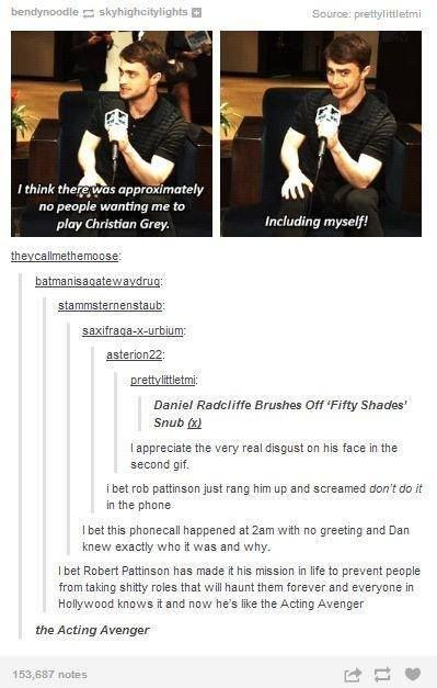 There's no way Daniel Radcliffe is wrong about this