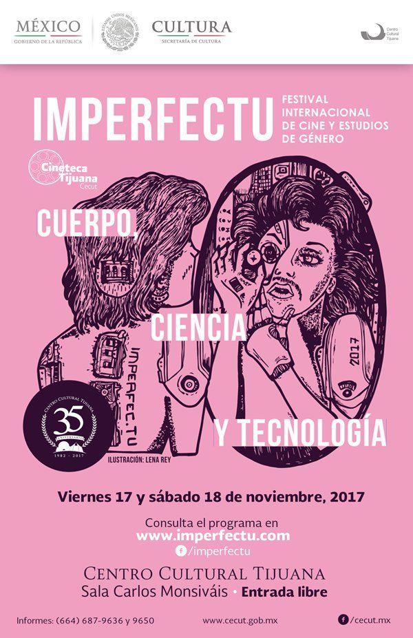 A través del cine, el arte y los estudios de género, Imperfectu: Festival Internacional de Cine y Estudios de Género explora las infinitas posibilidades que los terrenos del sexo, el género y la sexualidad ofrecen, cuestionando la primacía de las convenciones a las que el sistema binario de género y la heteronormatividad nos limitan.