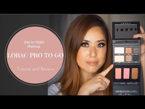 """""""Taking your look from day to night is easy with the LORAC PRO To Go Eye and Cheek Palette.  cc: Sarah Sori Kim"""""""