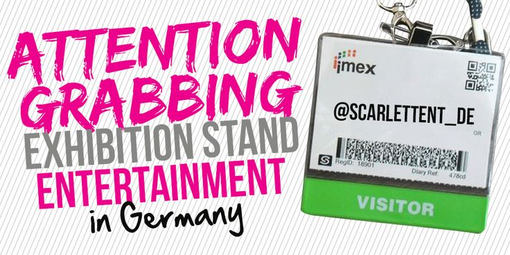 Trade Fair Entertainment | Footfall Drivers | Exhibition Entertainment Germany