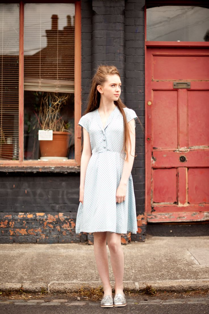 The polka dot Ingrid tea dress from Circus