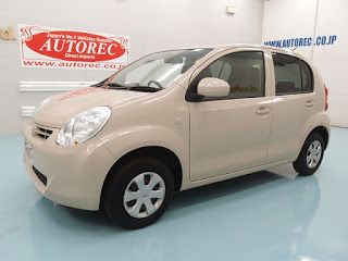Japanese vehicles to the world: 19613T7N7 2010 Toyota Passso X for Kenya to Mombas...