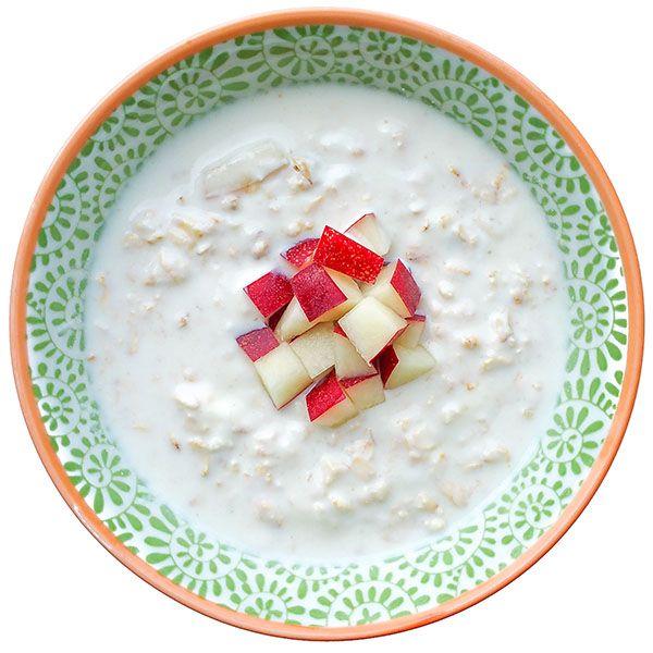 Overnight Yogurt Oatmeal with Nectarines Recipe on Yummly. @yummly #recipe