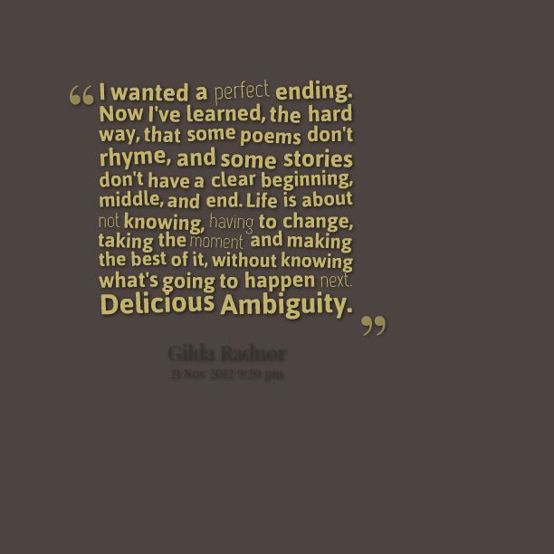 Image result for quotes about ambiguity