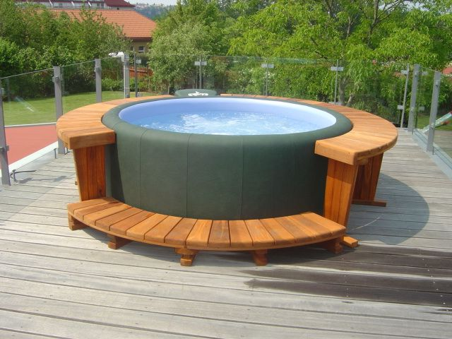 26 best Terrace - Terasy images on Pinterest Spa, Terrace and - whirlpool sichtschutz