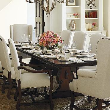 Valetta Trestle Dining Table