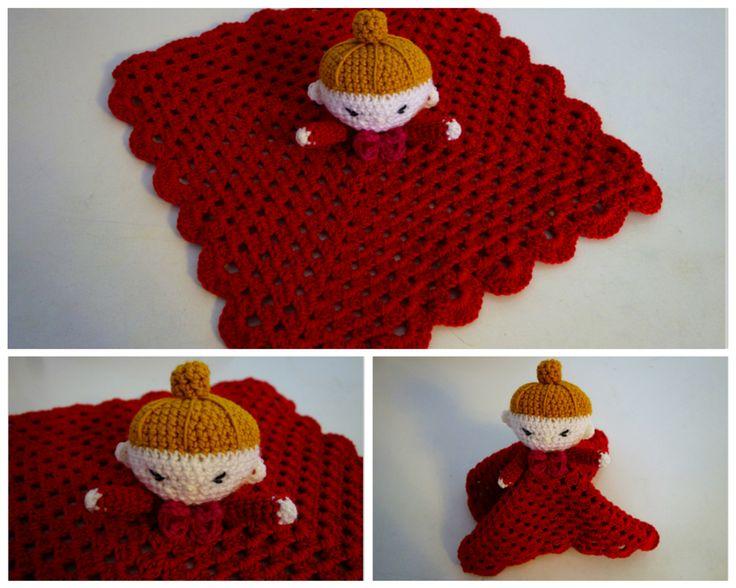 Little My sleep toy, yarn Novita Ipana and Linie 110 Timona