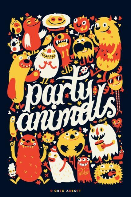 Party Animals by Greg Abbott