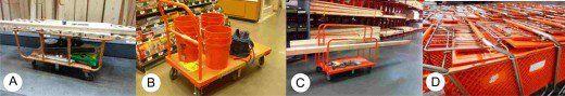 Four Main Type of Lumber Yard Shopping Carts