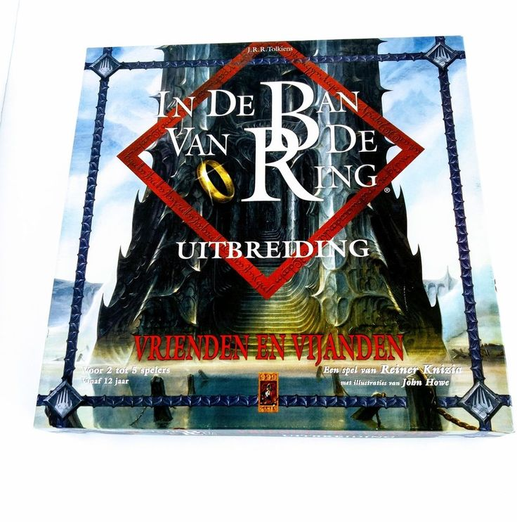 Lord of the Rings Boardgame J.R.R. Tolkien/Vrienden en Vijanden/Uitbreiding | eBay