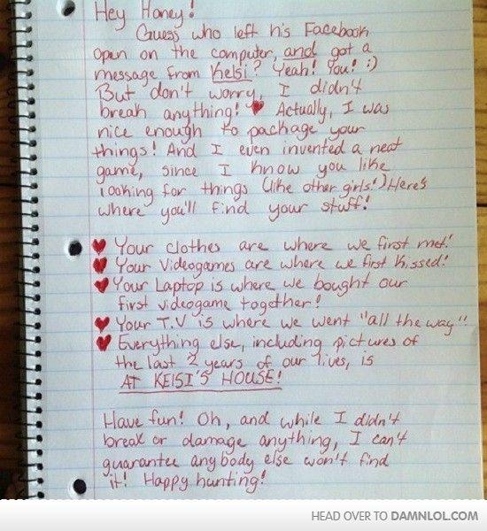 Best Breakup Letter Ive Seen | | FUNNY | | Break up letters