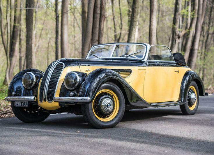 Die Welt der Oldtimer: BMW 327 Sport Cabriolet 1938 - Die Welt der ...