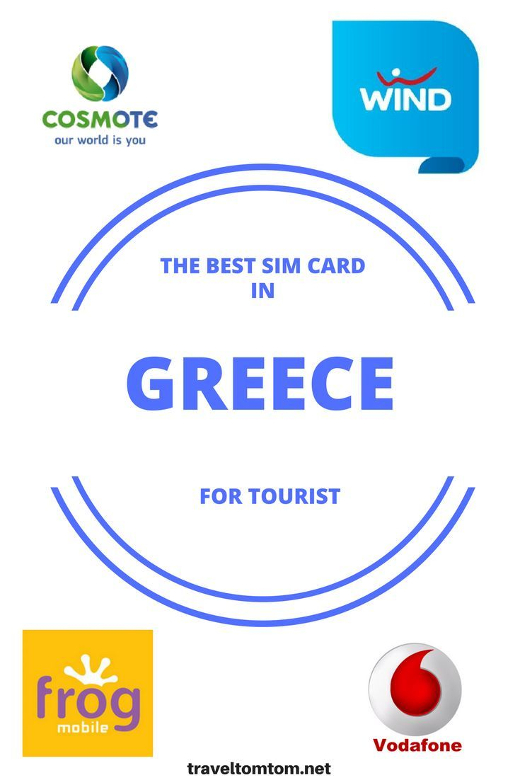 Looking for the best tourist sim card in Greece? I did the math for you! This is the best SIM card for tourists. #europe #vacation #trip #travel #traveltips #simcard #telecom #traveltomtom #greece #wind #vodafone #cosmote #frog