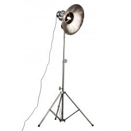 #Mohawk #tripod constructed in #aged #effect aluminium.Tripod lamp industrial  design